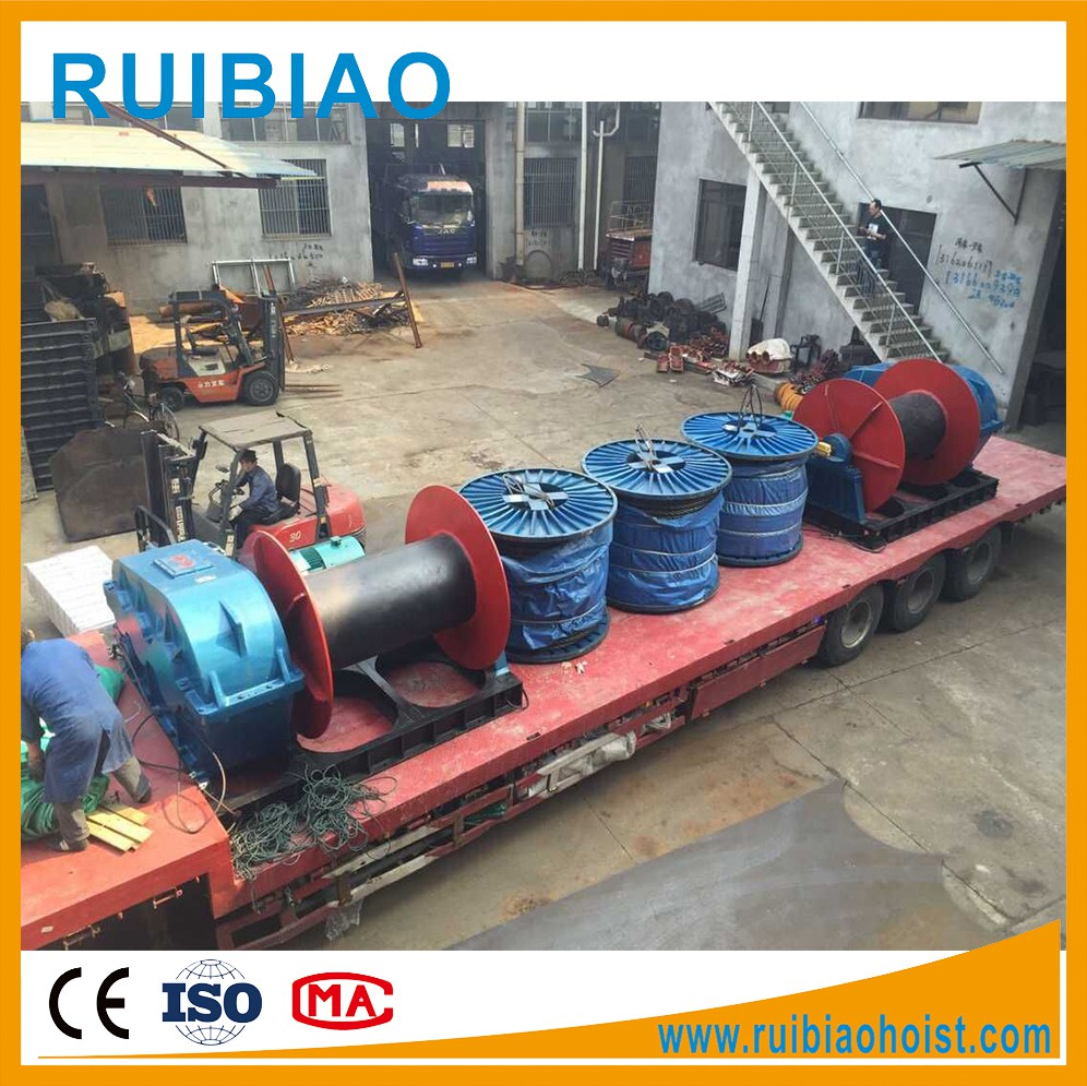 wire rope pulling electric winch ,electric rolling machines ,cable pulling machine