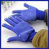 Manufacturer 2015 pvc dotted working glove/superior glove