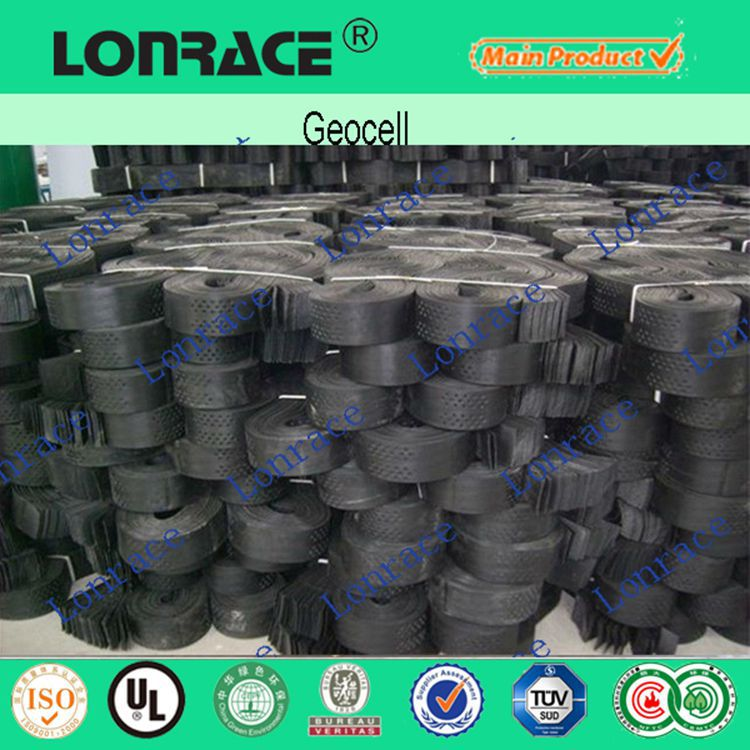 gravel grid hdpe geocell