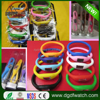 cheapest promotional smart silicone ion Watch