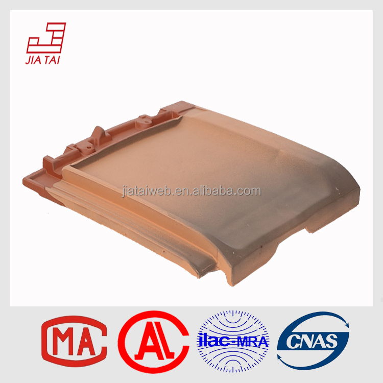 mixed color decorative flat clay roof tile