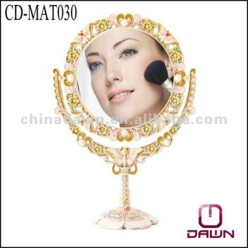 wholesale make up mirror with butterfly CD-MAT030