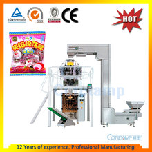 Automatic Weighing Candy Pouch Packing Machine