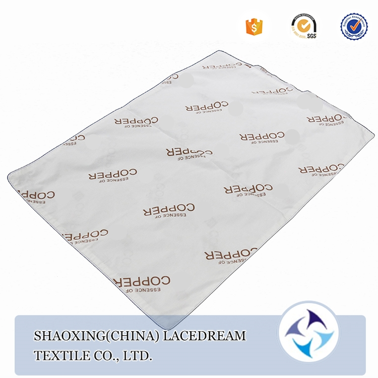 Alibaba custom antimicrobial sofa down proof pillow case