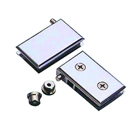 Stainless Steel Glass Hinge /bathroom heavy duty glass door hinge