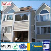 Elastic Fluorocarbon Metallic exterior wall decoration paints