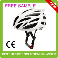 custom light cycling helmet, double in-mold road bike helmet with CE