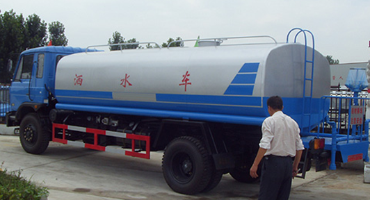 Dongfeng brand 10 Cubic Meter water tanker Water Sprinkling truck
