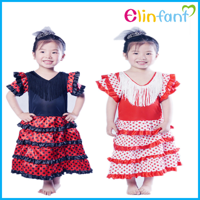 Elinfant Little Girls Fancy Beautiful Dance Party Dress Halloween Kids Costumes