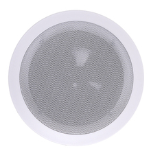 Professional 8 inch White Plastic Cabinet Live Sound Equipment PA Ceiling Speaker