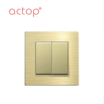 Wall Switch Plate Dark Rose Golden Touch Switch New For Hotel Control