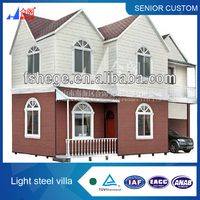 Prefabricated 2 storey house model