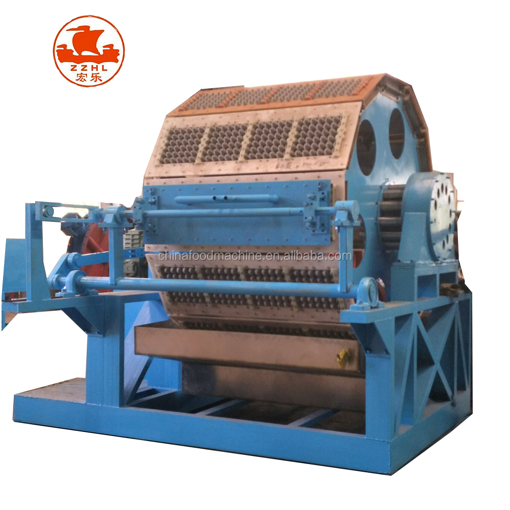 Waste Paper Recycling Machine Plant Prices For Sale Production Line Recycled Paper Egg Tray Making Machine