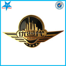 Custom car badges emblems magnetic lapel pin for promotional gift
