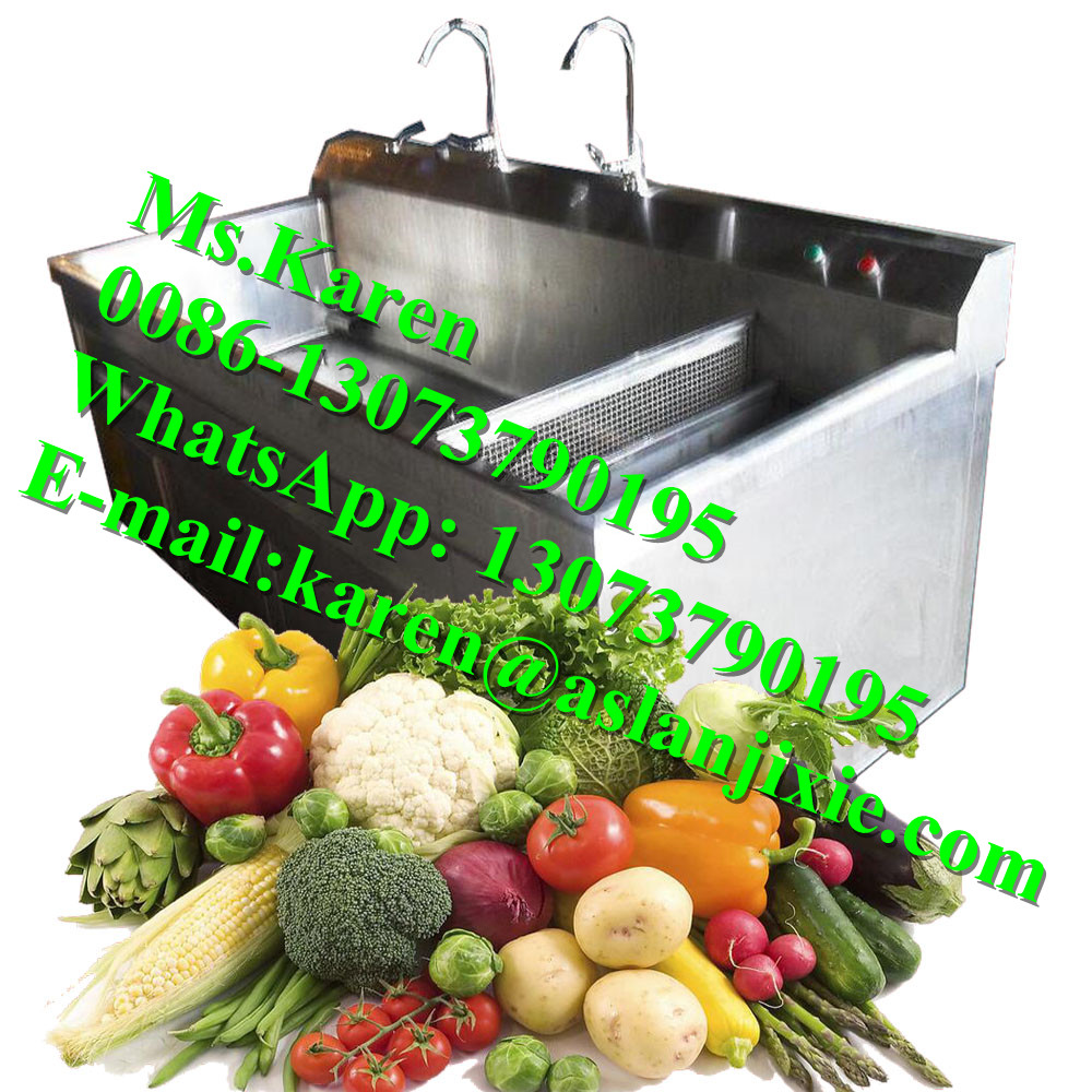 vegetable and fruit washing equipment / resturtant kitchen use vegetable washing sink / ozone fruit and vegetable washer
