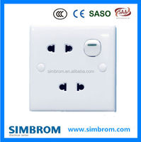 Universal Wall Switch Socket 10 Amp Switch