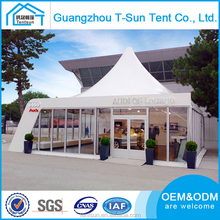 Outdoor Luxury Pagoda wedding Waterproof folding Shape Portable aluminum structure 20 person tent inflatable