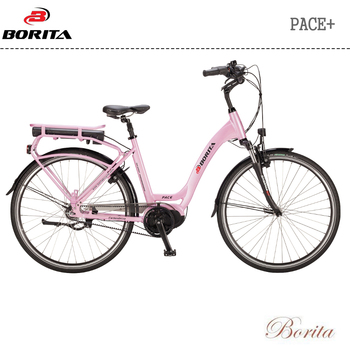 Borita Pace+ New Design Aluminum Alloy High Quality Electric Bicycle