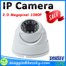 Security system 1080P CCTV camera cmos IP Camera Dome 2mp camera with free client software