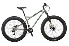 HIGH QUALITY STAINLESS FAT TIRE SNOW BIKE WITH DEORE 20 SPEED