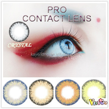 new arrival multi color soft contact lens PRO series 5 colors