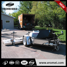 infrared trailer asphalt heater
