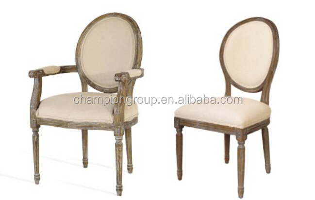 Round Back Dining Chair Wood Mx 0012w
