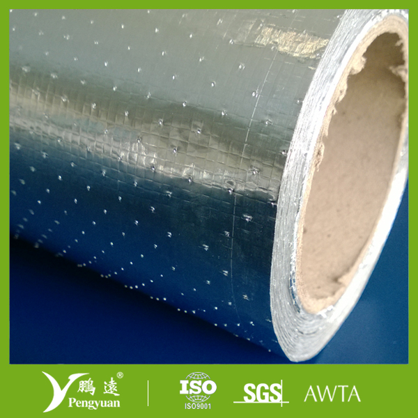 Reflective house wrap hest insulation