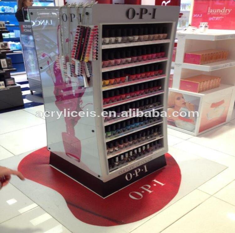 Weitu Brand Whole Custom Opi Nail Polish Display Rack