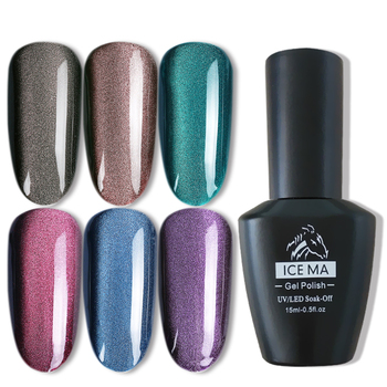 Perfect ICE MA hot sell long lasting easy to soak off Wide Range Cat Eye gel polish for nail beauty