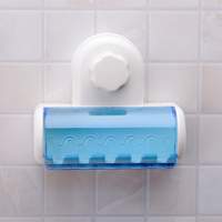 SQ-1937 covered toothbrush holder for electric toothbrushes toothbrush holder