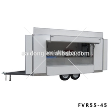 hot dog cart/pizza trailer/snack food trailer best price on promotion