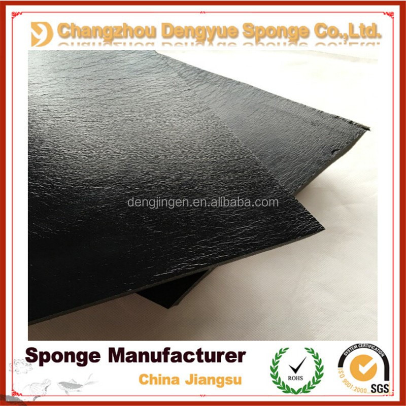 Sound Insulation Adhensive polyurethane covered Generator Soundproof Foam&sponge
