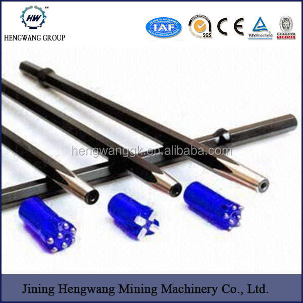 drilling hollow hex steel jack hammer drill rods for tunnel
