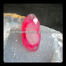 Drusy Pink Agate Artificial Jewelry Cabochon