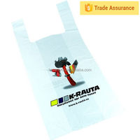 Import china products new arrival t-shirt bag for shopping,hdpe yellow t-shirt bags