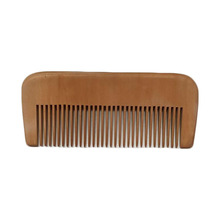 Natural Peach Wooden Comb Customized Your Logo. WB100-55