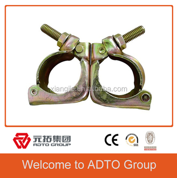 africa Quality Products Safety Assured Scaffold BritishDrop Forged Swivel Coupler 48.3mm/0.97mm