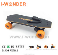 US Warehouse I-WONDER CE 4 Wheels SK-A1 Portable Motor Kit RC Electric Skateboard 1200w 4.4AH Brushless Motor