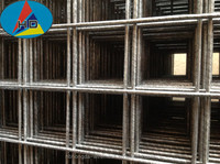 Australia SL Series Black Mild Steel Reinforced Welded Wire Mesh Panel