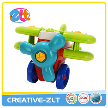 Hot selling plastic self-assembly vehicles toys for kids