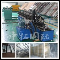 metal stud door frame cold roll former, roll forming machine for ceiling cross