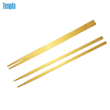 Wholesale high quality popular paper wrapped printed disposable cheap twin chopsticks