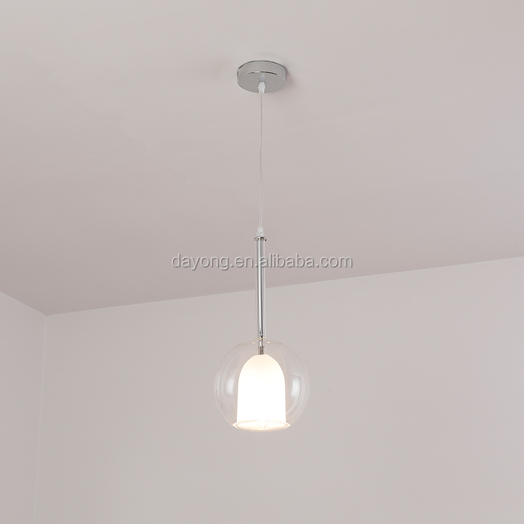 Simple Acrylic Pendant Lighting Lamp In Shop