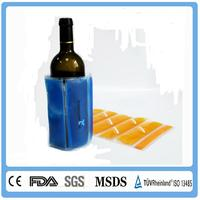 Plastic ice cooler bags for bottle