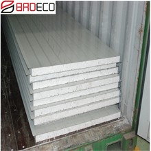 cheap EPS PU rockwool color coated steel sheet Sandwich Panel colourbond for roof wall fence prefab house