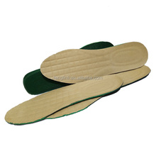 China dongguan shoe insole maker deodorize memory foam insole leather