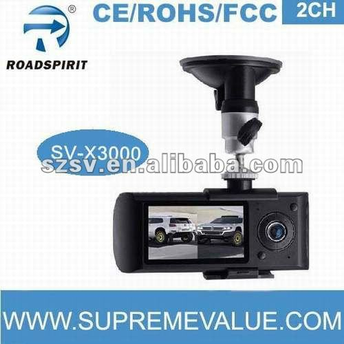140 degree 5.0M pixels CMOS 2CH with GPS logger and G-sensor google map mini 720p dvr blackvue dr400g-hd ii