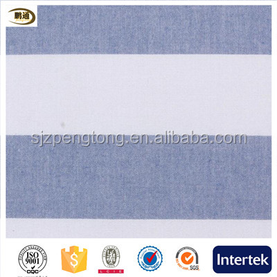 High grade stripes shirting fabric easy care men shirting fabric