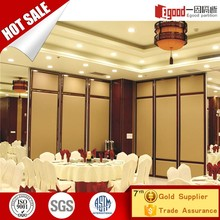 China Hotel Aluminium Interior Acoustic Insulation Materials Movable Partition Wall
